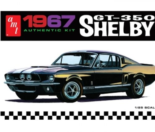 AMT 1967 Shelby GT350 - White 1:25 Scale Model Kit
