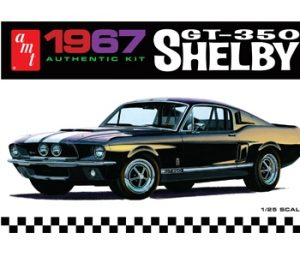 AMT 1967 Shelby GT350 - Black 1:25 Scale Model Kit