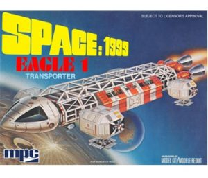 "MPC Space 1999: Eagle-1 12"" long Scale Model kit"