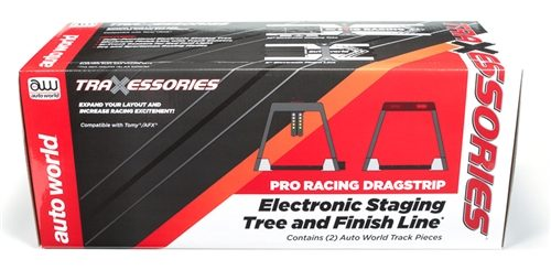 Auto World Dragstrip Electronic Staging Tree/starting gate and Finish Line