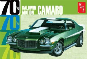 AMT Baldwin Motion 1970 Chevy Camaro - Dark Green 1:25 Scale Model Kit
