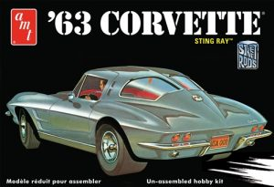 AMT 1963 Chevy Corvette 1:25 Scale Model kit
