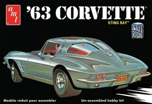 AMT 1963 Chevy Corvette 1:25 Scale Model kit