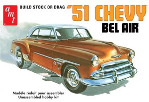 AMT 1951 Chevy Bel Air 1:25 Scale Model Kit