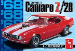 AMT 1968 Camaro Z/28 1:25 Scale Model Kit