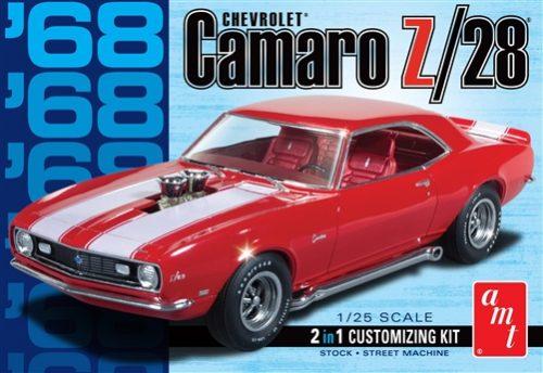 AMT 1968 Camaro Z/28 1:25 Scale Model Kit