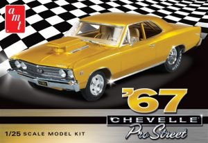 AMT 1967 Chevy Chevelle Pro Street 1:25 Scale Model Kit
