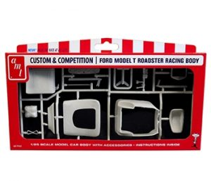 "AMT Ford Racing ""T"" Body 1:25 Scale Parts Pack"