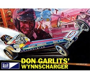 MPC Don Garlits Wynns Charger Front Engine Rail Dragster 1:25 Scale Model Kit