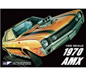 MPC 1970 AMC AMX 1:20 Scale Model Kit