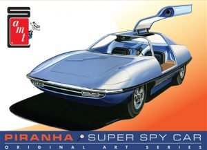 AMT Piranha Spy Car - Original Art Series 1:25 Scale Model Kit