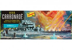 HL403-12 USS Carronade Packaging -o