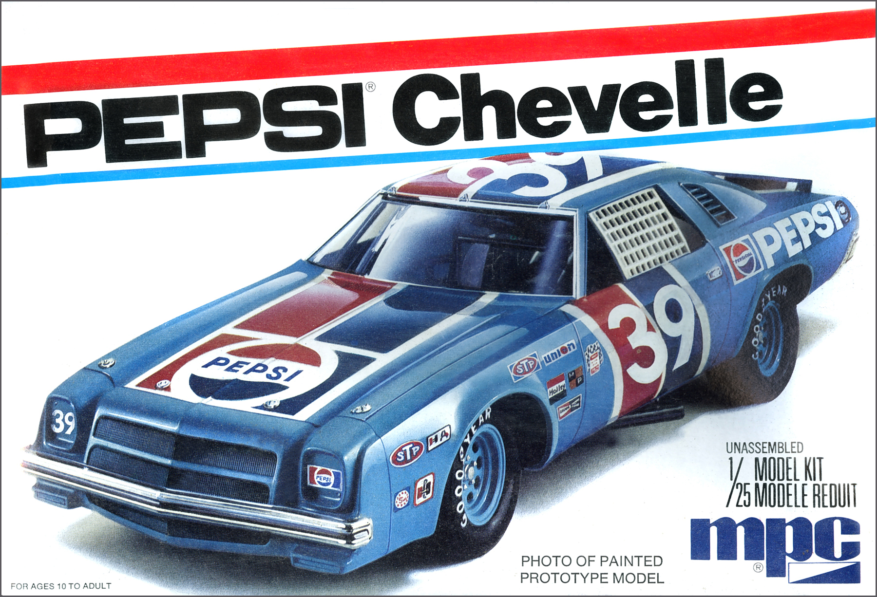 Stock Car Products: Pepsi 1975 Chevy Chevelle Stock Car