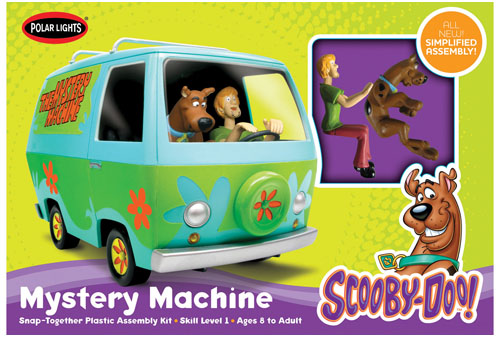 POL901 Scooby Doo Mystery Machine