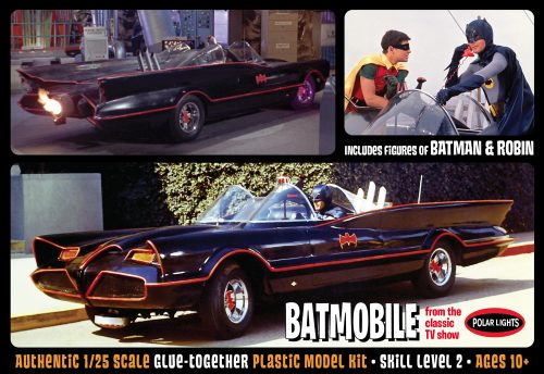 POL920 Batmobile w-new figs