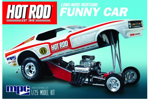 MPC801 Hot Rod Magazine Funny Car