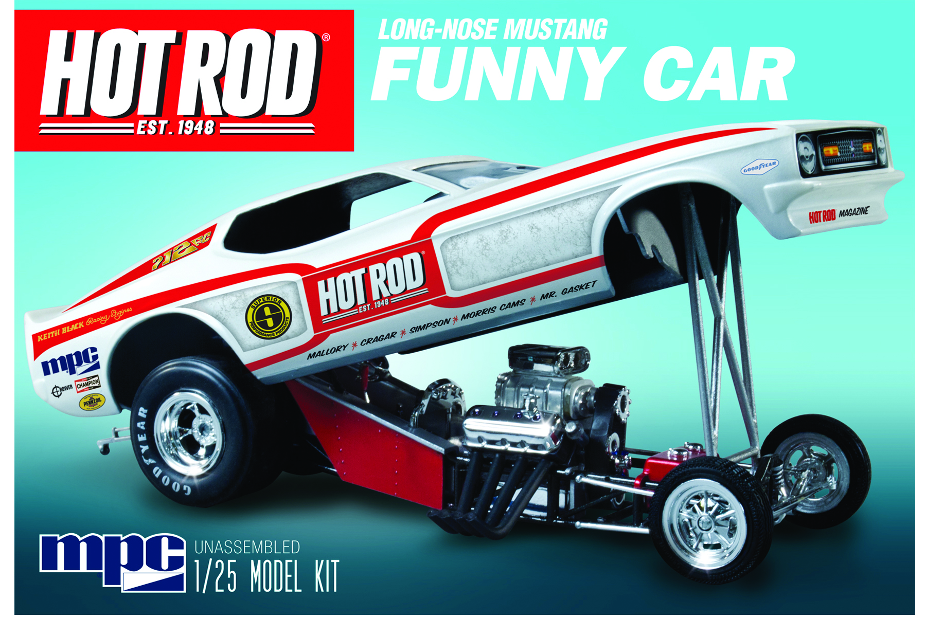 1970\'s Hot Rod Magazine Mustang Funny Car | Round2