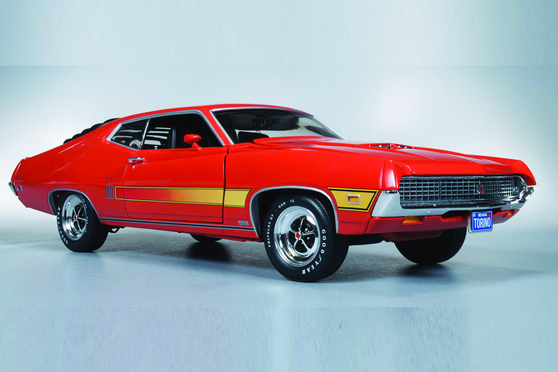 Home Garage Design 1970 Ford Torino Gt Round2