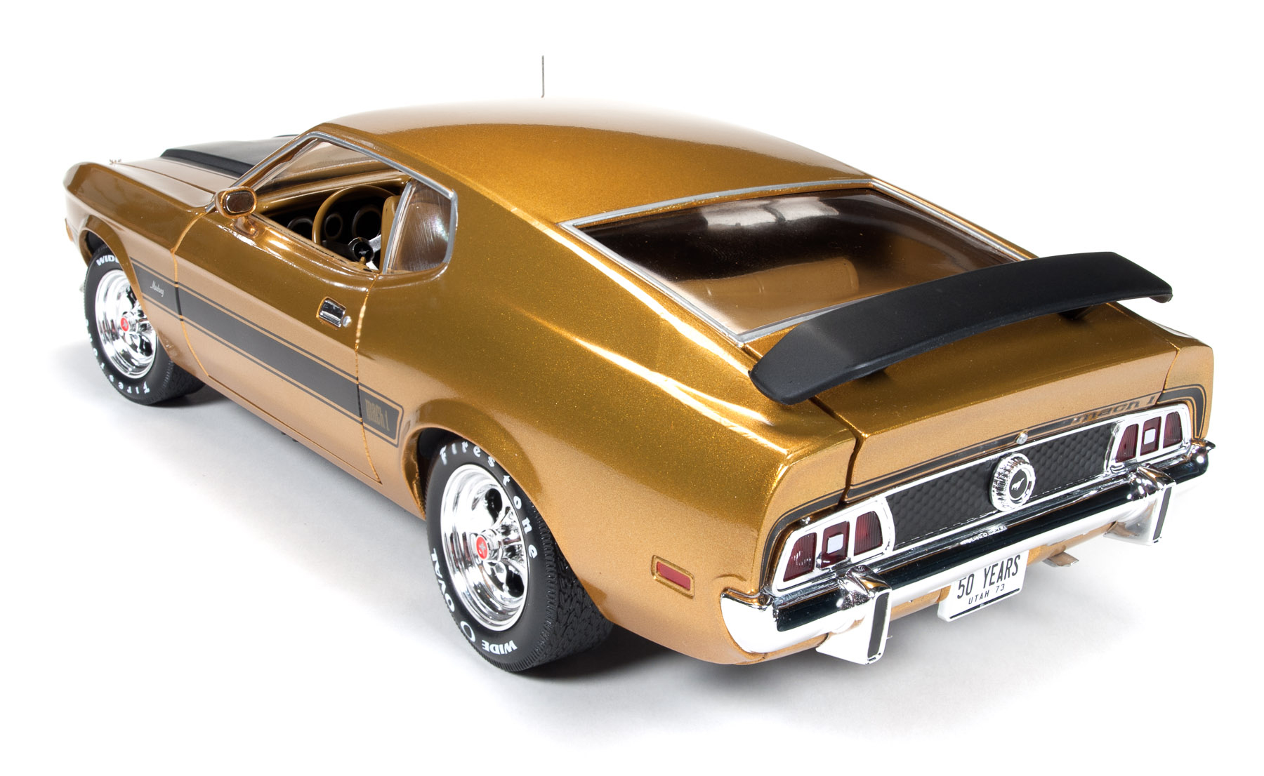 1973 ford mustang mach 1 golden 50th anniversary of. Black Bedroom Furniture Sets. Home Design Ideas