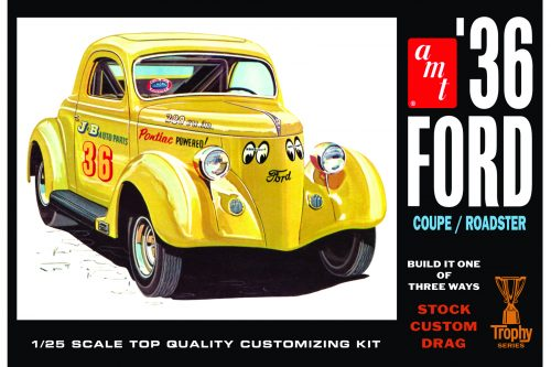 AMT824 1936 Ford Coupe