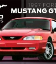 AMT864 1997 Ford Mustang GT-lid