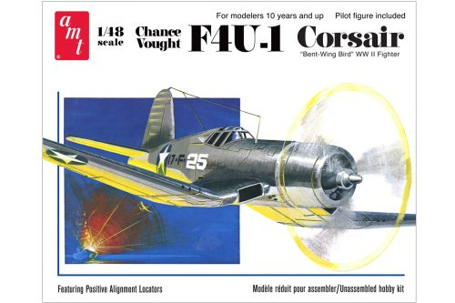 AMT867-Chance-Vought-F4U-1-Fighter-Plane