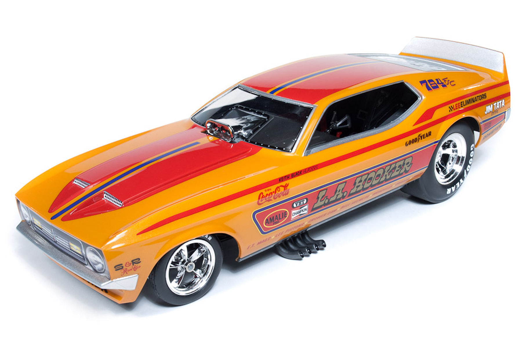 LA Hooker 1971 Mustang Funny Car (Dave Condit) | Round2