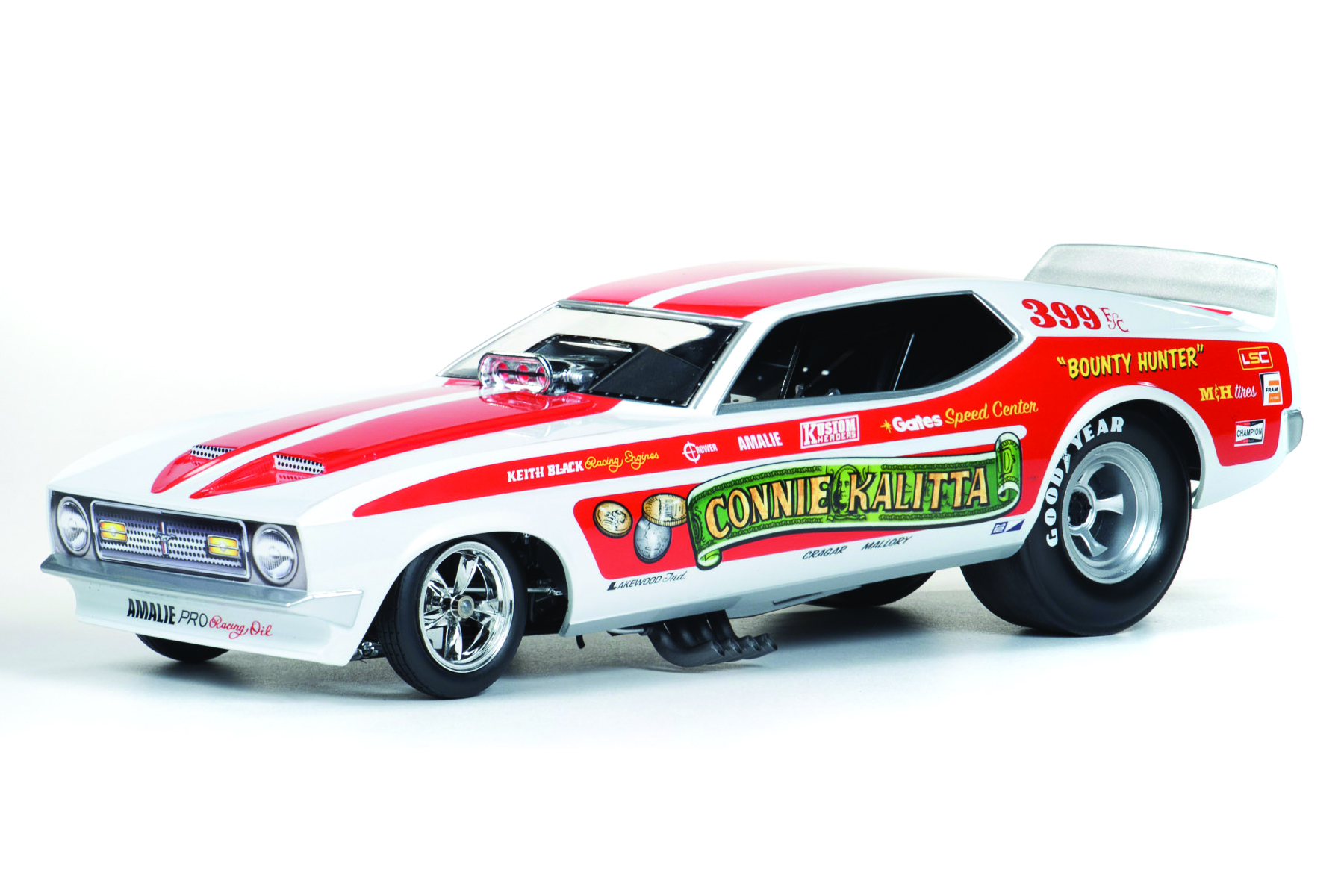 Richard Petty Mustang >> Bounty Hunter 1972 Mustang Funny Car (Connie Kalitta) | Round2