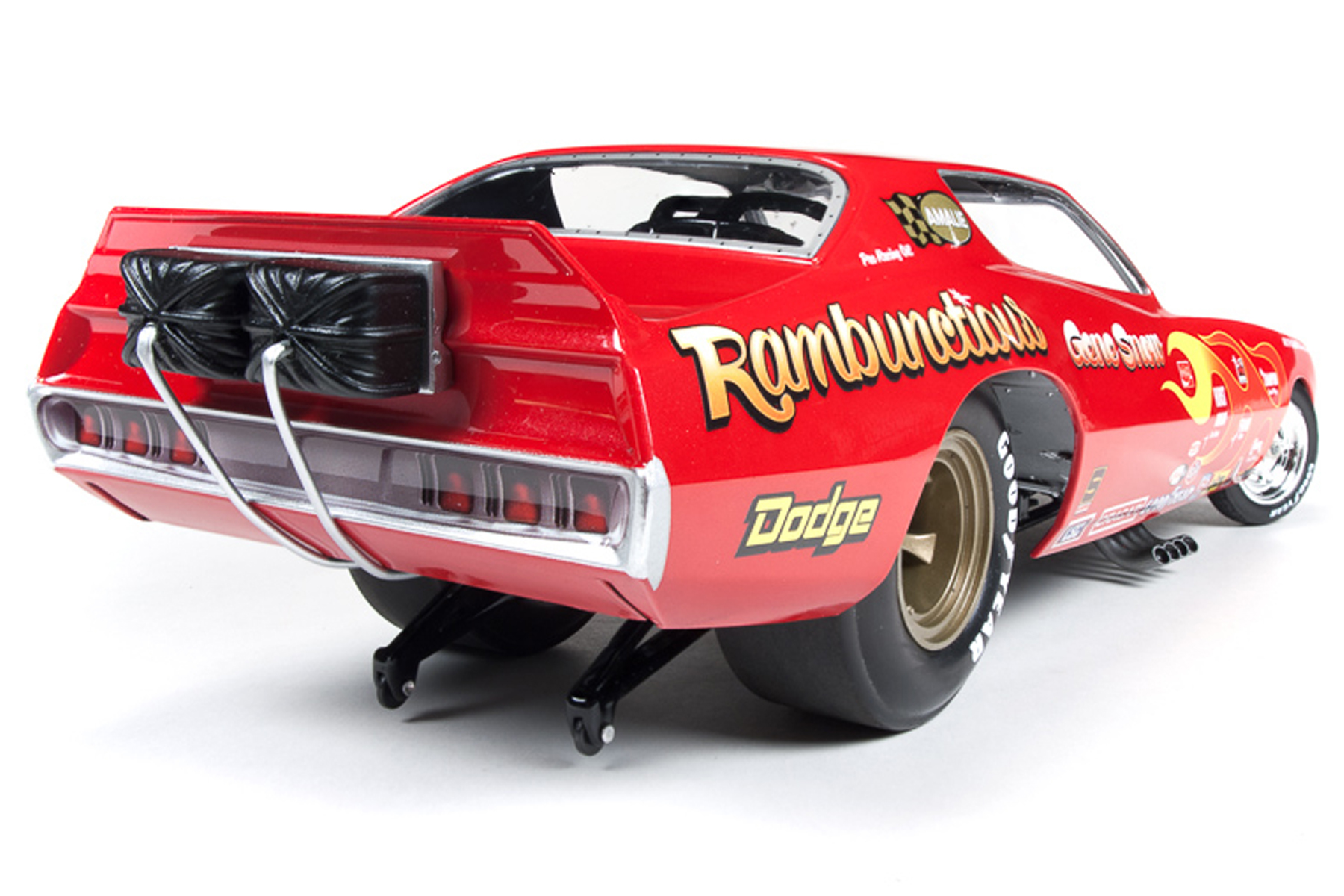 Rambunctious 1971 Dodge Charger Funny Car Gene Snow Round2