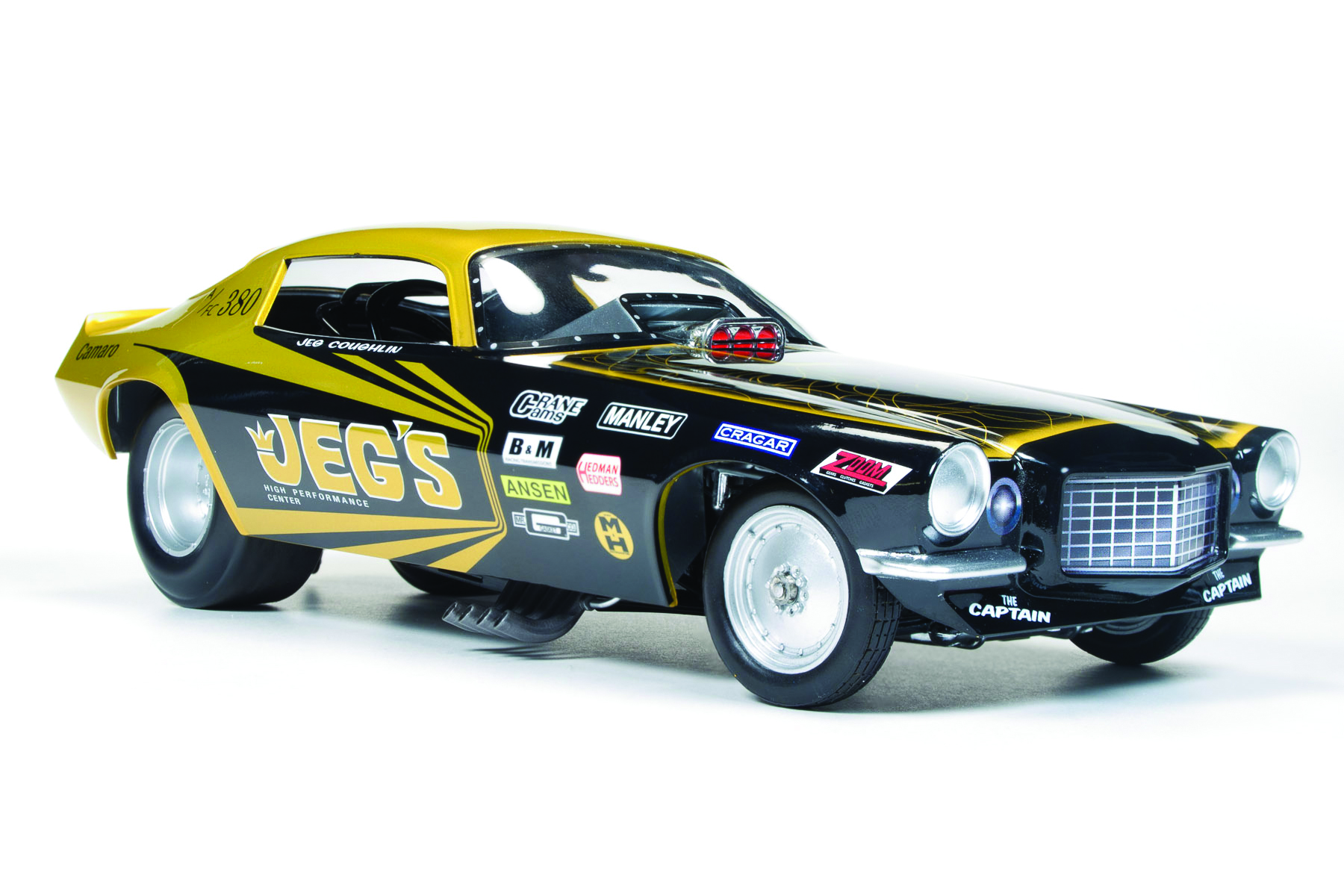 Jegs 1970s Camaro Funny Car Jeg Coughlin Round2