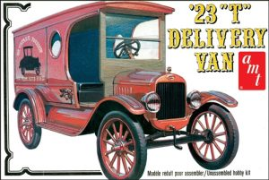 AMT Nestle 1923 Ford Model 'T' Delivery 1:25 Scale Model Kit