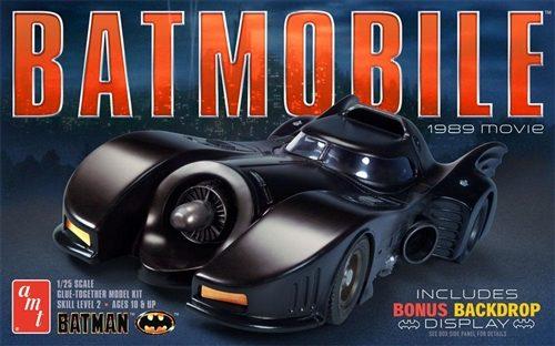 AMT 1989 Batmobile 1:25 Scale Model Kit
