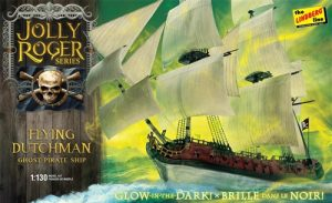 Lindberg Jolly Roger Series: Flying Dutchman 1:130 Scale Model Kit