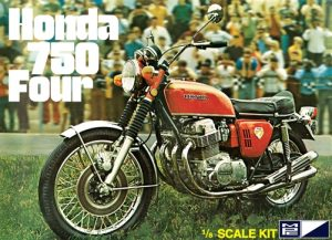 MPC Honda 750 Four Motorcycle 1:8 Scale Model Kit