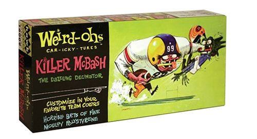 HAWK Weird-ohs Killer McBash Model Kit