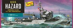 Lindberg U.S. Navy Mine Sweeper USS HAZARD 1:125 Scale Model Kit