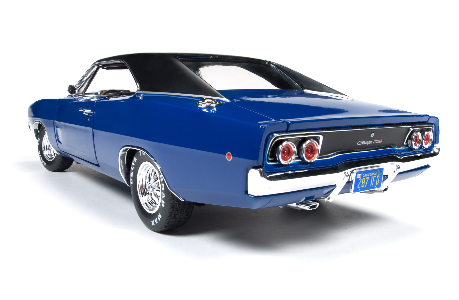 1968 Dodge Charger Hardtop Christine Round2 Drag Car Home Scale 118