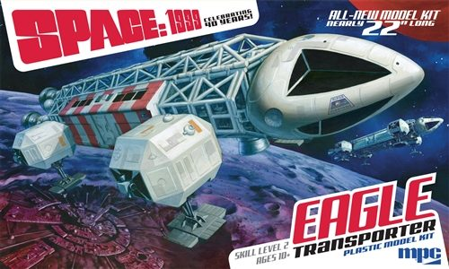 MPC Space 1999 - Eagle Transporter 1:48 Scale Model Kit