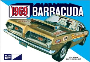 MPC 1969 Plymouth Barracuda 1:25 Scale Model Kit