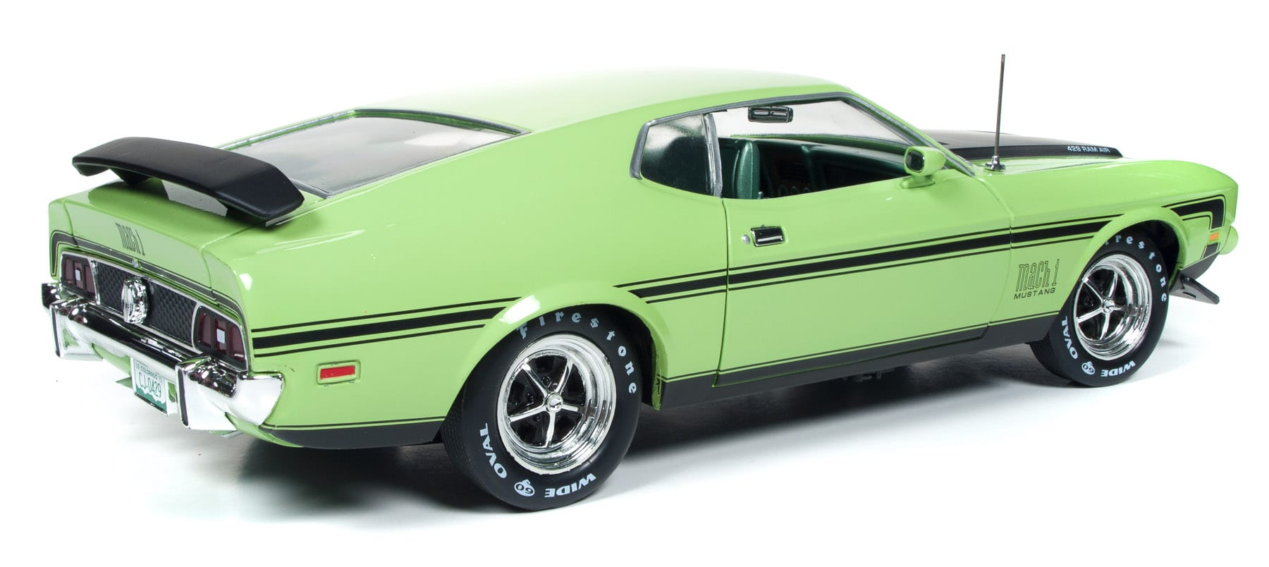 1971 Ford Mustang Mach 1 Round2 1964 Fastback Home Scale 118