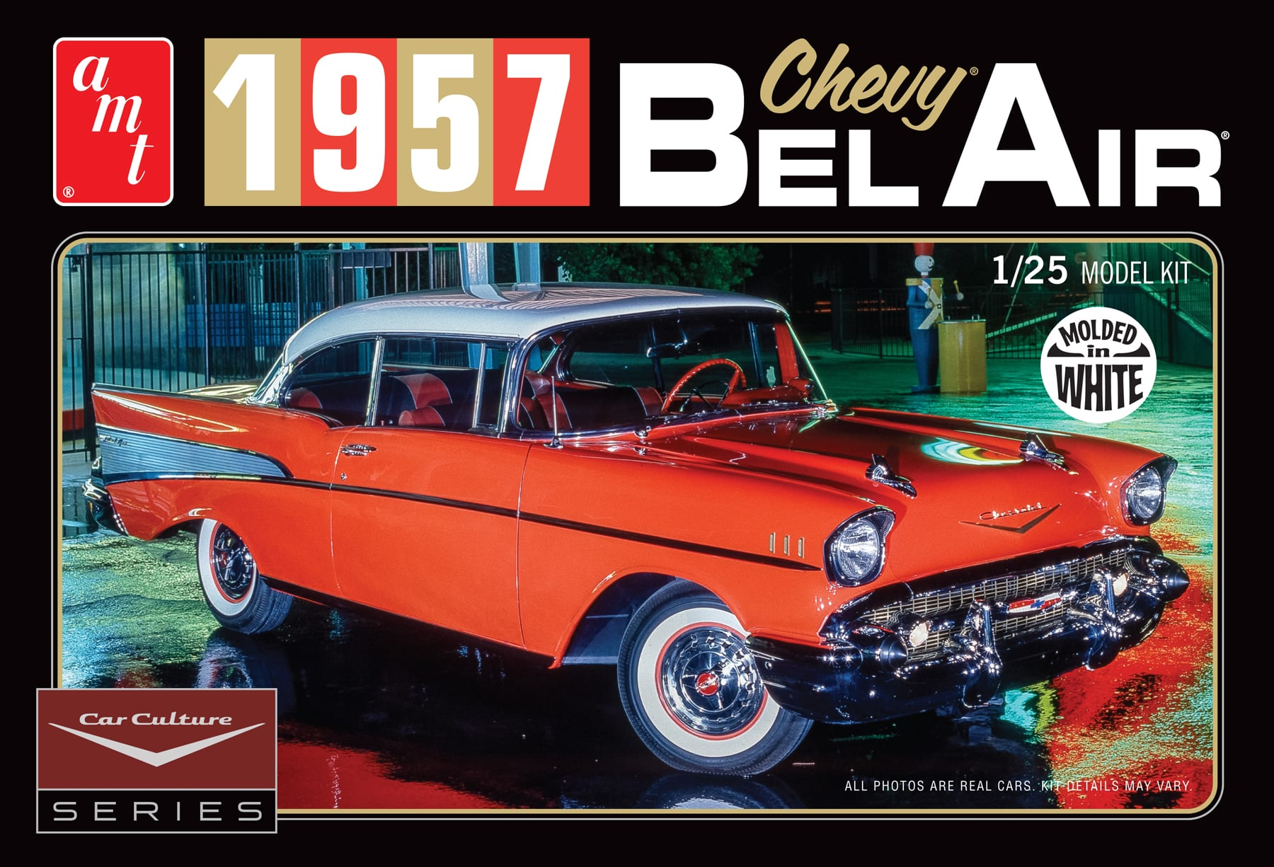 Cindy Lewis Car Culture 1957 Chevy Bel Air with Diorama and Photo ...