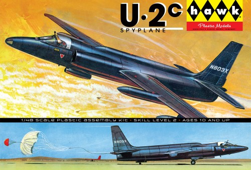 HL421-12 U-2 Spyplane packaging -o