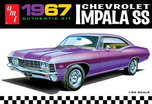 AMT 1967 Chevy Impala SS (Stock) 1:25 Scale Model Kit