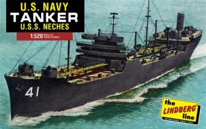 Lindberg WWII US Navy Tanker 1:520 Scale Model Kit