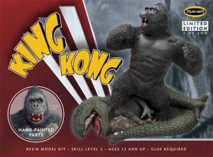 Polar Lights King Kong Resin Figure (Painted) 1:72 Scale kit