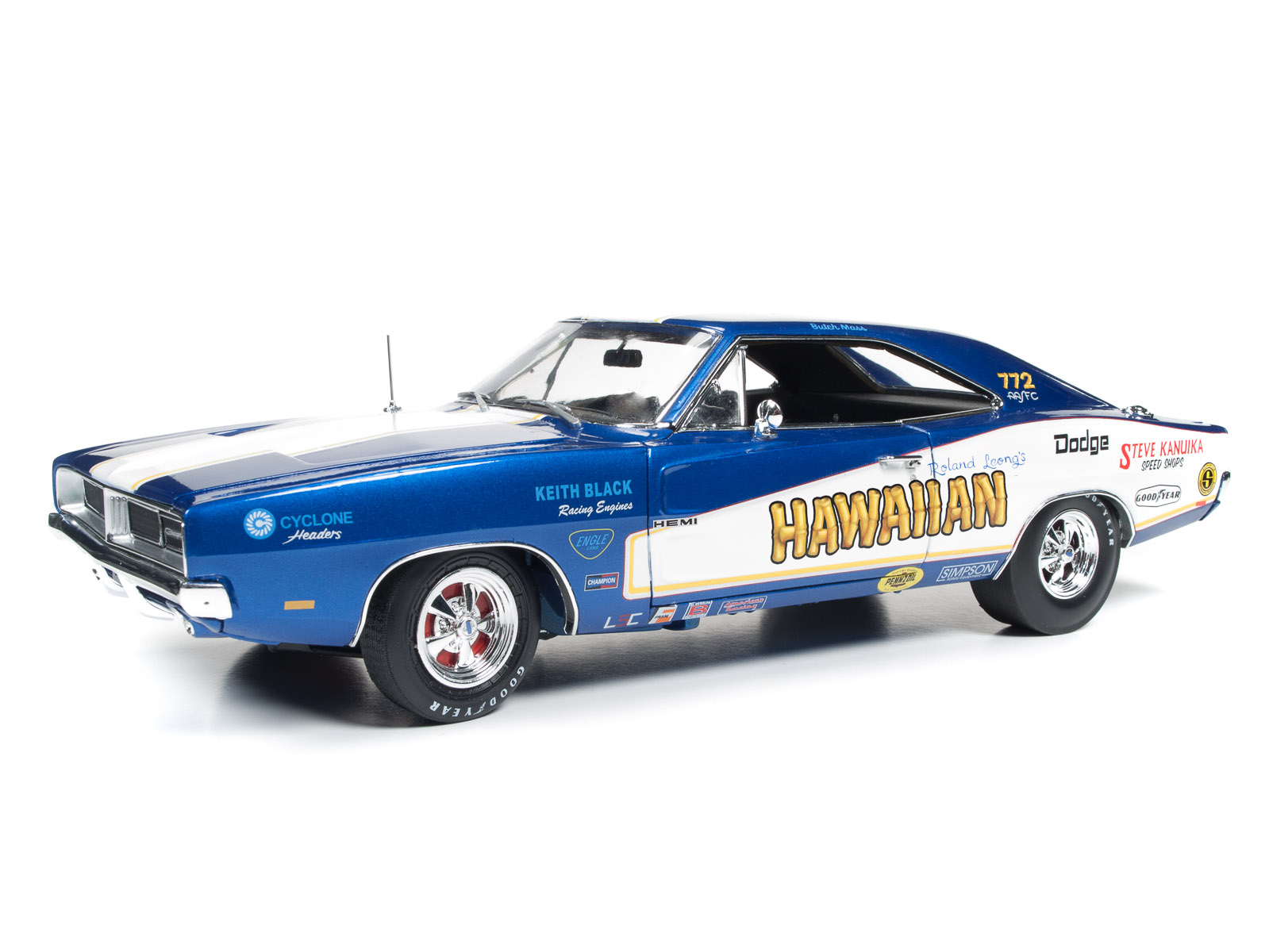 1969 Dodge Charger Hawaiian Funny Car Tribute Round2