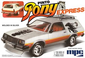 MPC 1979 Ford Pinto Wagon Pony Express 1:25 Scale Model Kit