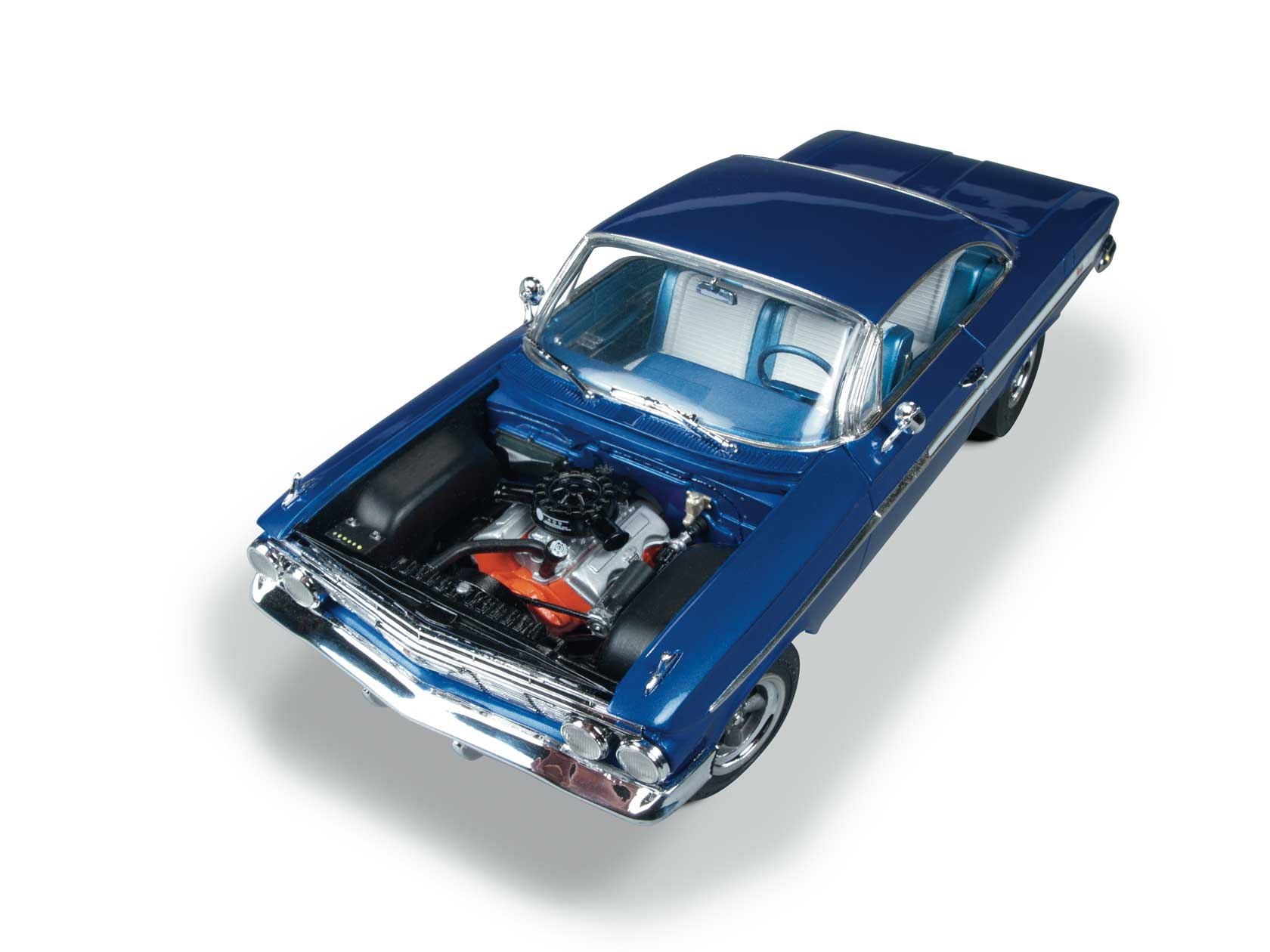 1961 Chevy Impala Ss Round2 Home Scale 124 125