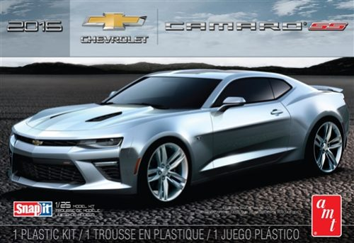 AMT 2016 Chevy Camaro SS (Garnet Red) 1:25 Scale Snap Kit