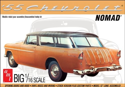 AMT 1955 Chevy Nomad Wagon 1:16 Scale Model Kit
